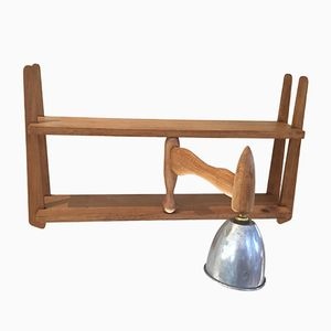 Vintage Wall Mounted Shelf by Guillerme et Chambron for Votre Maison