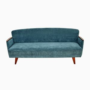 Meergrünes Sofa, 1950er
