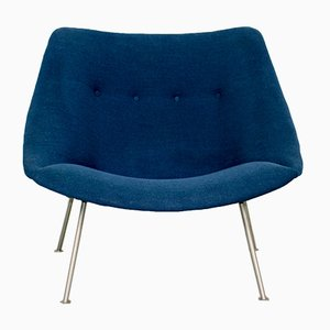 Small Vintage Oyster Chair by Pierre Paulin for Artifort, 1962
