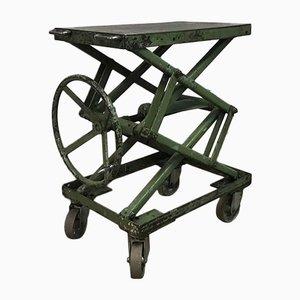 Vintage Garage Height-Adjustable Work Table