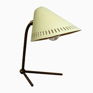 Scandinavian Beige Table Lamp from ASEA, 1950s