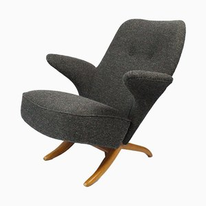 Mid-Century Pinguin Lounge Chair by Theo Ruth for Artifort