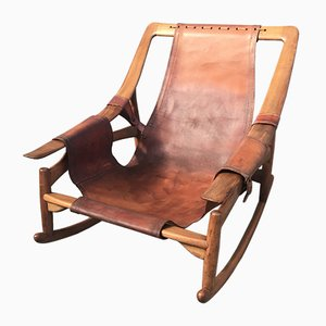 Rocking Chair par Arne Tidemand Ruud, 1950s