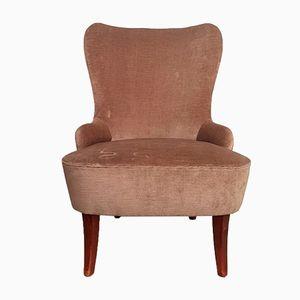 Sessel aus Samt von Theo Ruth für Artifort, 1950er