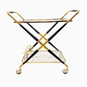 Serving Cart by Cesare Lacca, 1950s