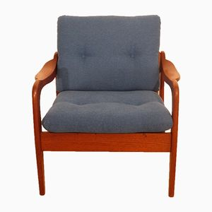 Danish Armchair in Teak, 1960s
