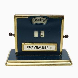 Art Deco Perpetual Calendar by Jakob Maul, 1930s