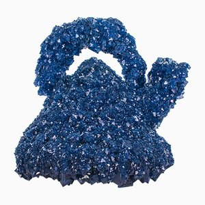 Bollitore Crystallized Icons Alessi blu di Isaac Monté