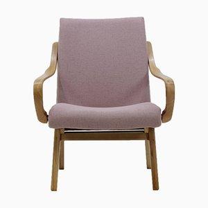 Tschechoslowakischer Bugholz-Sessel aus Buche, 1960er