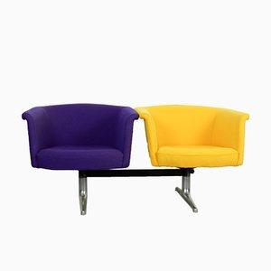 620 Modulares Zwei-Sitzer Sofa von Geoffrey Harcourt für Artifort, 1970er