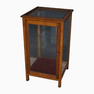 Oak Display Cabinet, 1930s