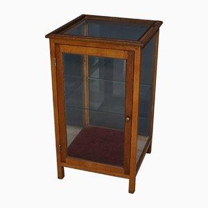 Oak Display Cabinet, 1930s
