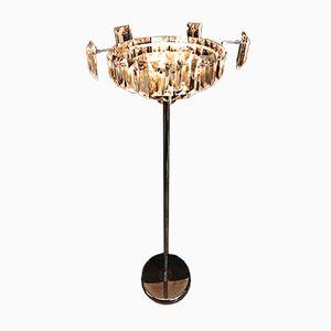 Italienische Murano Glas Stehlampe von Paolo Venini, 1970er
