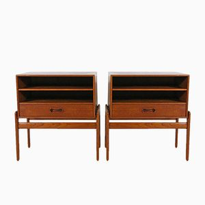 Vintage Nightstands by Arne Vodder for Vamo Sønderborg, Set of 2