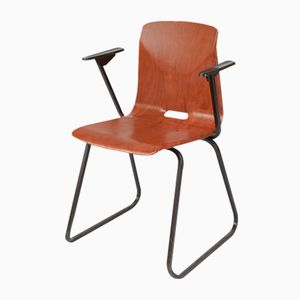 S23 Armlehnstuhl von M. Philipps für Galvanitas, 1970er