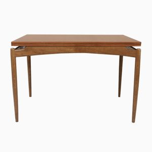 Vintage Scandinavian Extendable Teak Dining Table