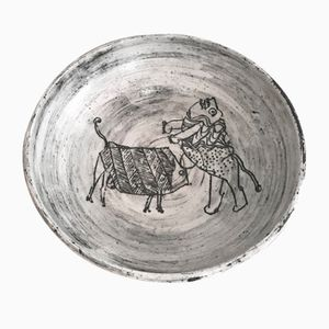 Bol en Céramique par Jacques Blin, 1960s