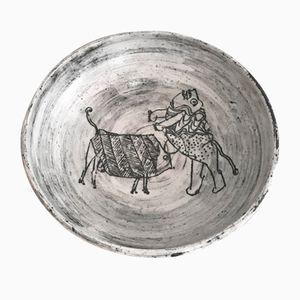 Keramik Schale von Jacques Blin, 1960er