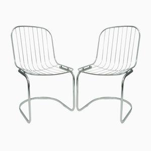Vintage Italian Chairs by Gastone Rinaldi, 1970s, Set of 2