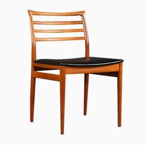 Mid-Century Esszimmerstühle aus Teak von Erling Torvits für Sorø Stolefabrik, 1960er, 4er Set