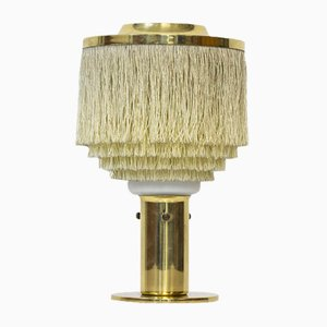 Swedish Silk Fringes Table Lamp by Hans-Agne Jakobsson, 1960s