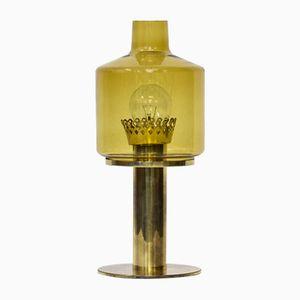 Schwedische Tischlampe aus Messing und Glas von Hans-Agne Jakobsson, 1960er
