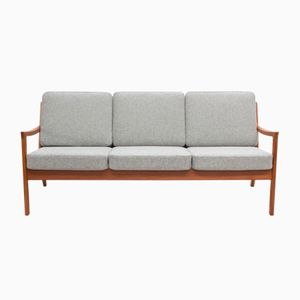 Teak Senator Sofa by Ole Wanscher for France & Søn, 1960s