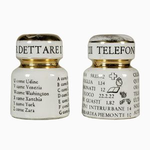 Paperweights by Piero Fornasetti, 1960s, Set of 2