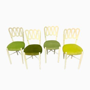 Vintage Chairs by Gio Ponti, Set of 4