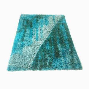 Danish Pop Art Wool Rug from LYNG Taepper, 1970s