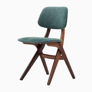 Niederländischer Beistellstuhl von Louis van Teeffelen für Wébé, 1950er