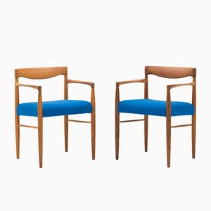 Armchairs by Henry W. Klein for Bramin, Set of 2