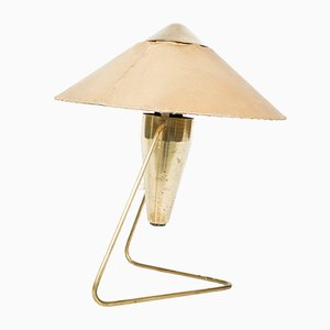 Messing Lampe, 1960er