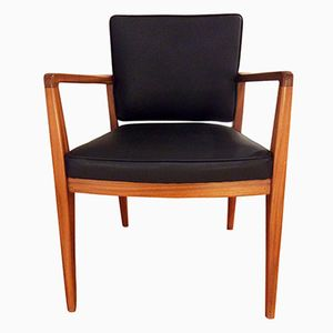 Vintage English Teak Armchair