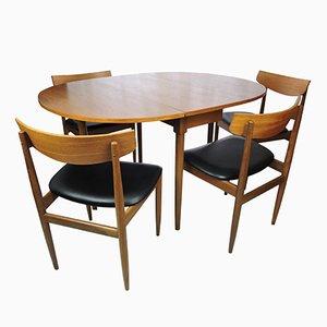 Vintage Esstsch und Esszimmerstühle von G-Plan