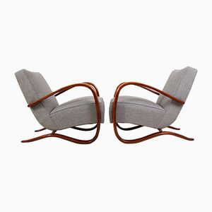 Model H269 Chairs by Jindrich Halabala for Thonet, 1930s, Set of 2