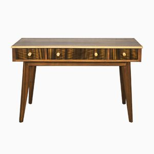 Mid-Century Australian Walnut Desk by Morris of Glasgow