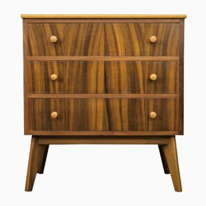 Mid-Century Australian Walnut Chest of Drawers by Morris of Glasgow