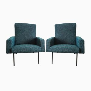 Mid-Century Armchairs by Pierre Guariche for Meurop, 1950s, Set of 2