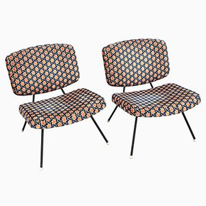 CM190 Armchairs by Pierre Paulin for Thonet, 1960s, Set of 2