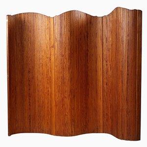 Gebogener Holz Wandschirm von Baumann, 1950er