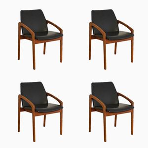Dining Chairs by Kai Kristiansen for Korup Stolefabrik, 1960s, Set of 4
