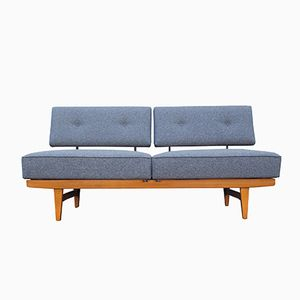 Stella Daybed in Blue Grey Fabric from Knoll, 1960s