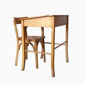 Children's Desk & Chair from Baumann, 1960s