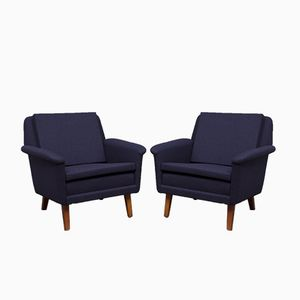 Easy Chairs by Folke Olhsson for Fritz Hansen, 1960s, Set of 2