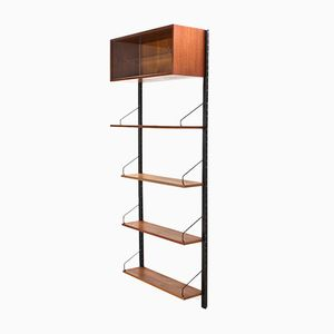 Modular Royal System Wall Unit in Teak by Poul Cadovius for Cado, 1960s