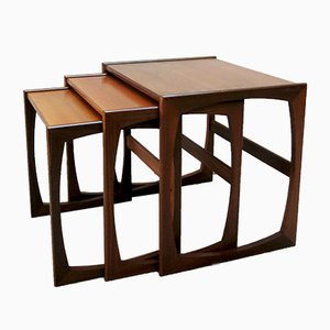 Quadrille Nesting Tables in Teak from G-Plan, 1960s