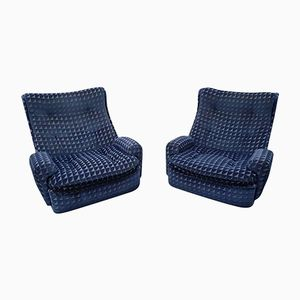 Vintage Armchairs by Michel Cadestin for Airborne, 1970s, Set of 2