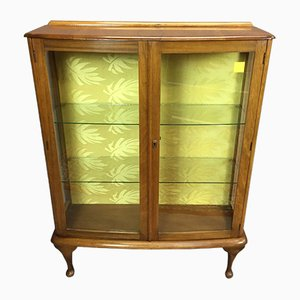 Art Deco Walnut Showcase