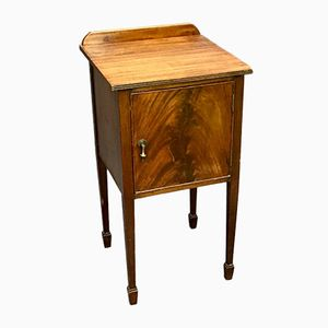 Mahogany Bedside Table, 1950s